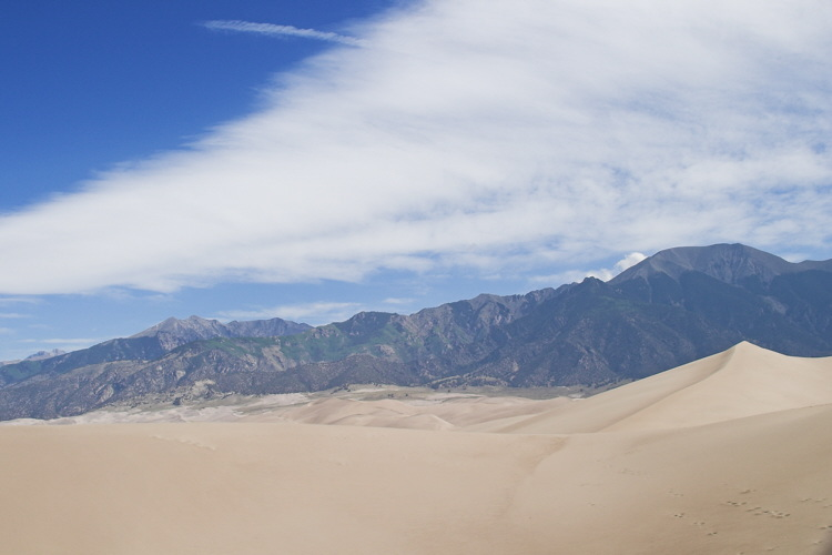 View from the Sand Dunes (Co)