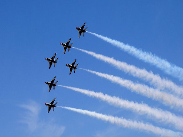 In Formation - Over Cannon AFB