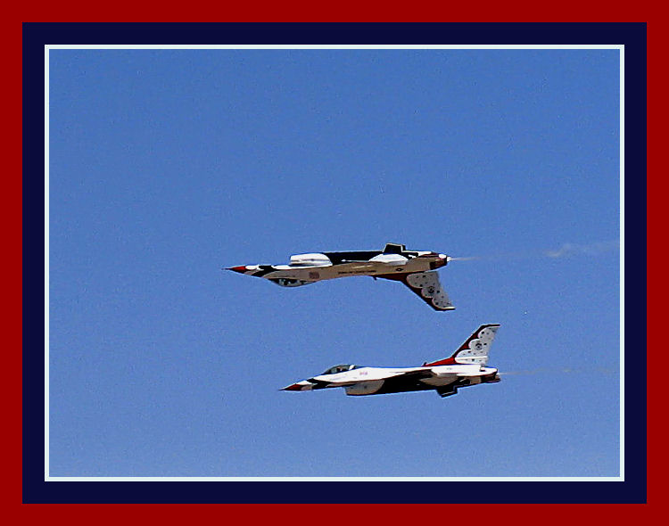 Under Over and Out - Cannon AFB Airshow