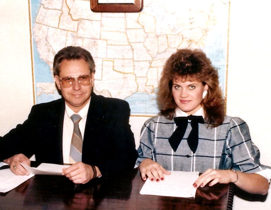 John & Patty Oct. 1985