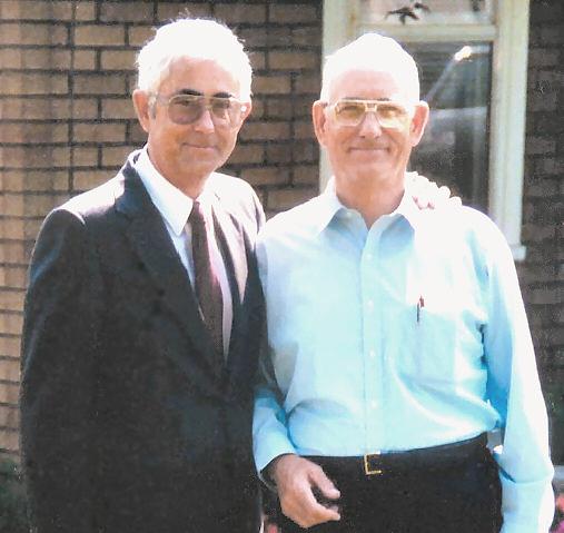 Denver & Dad in Middlesboro, Ky, 9-27-88