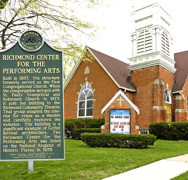 RICHMOND CENTER FOR PERFORMING ARTS