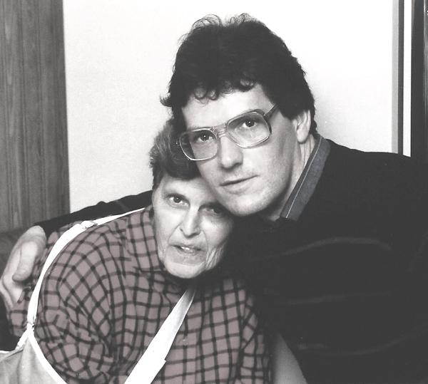 MOM AND NORM, CHRISTMAS, 1986