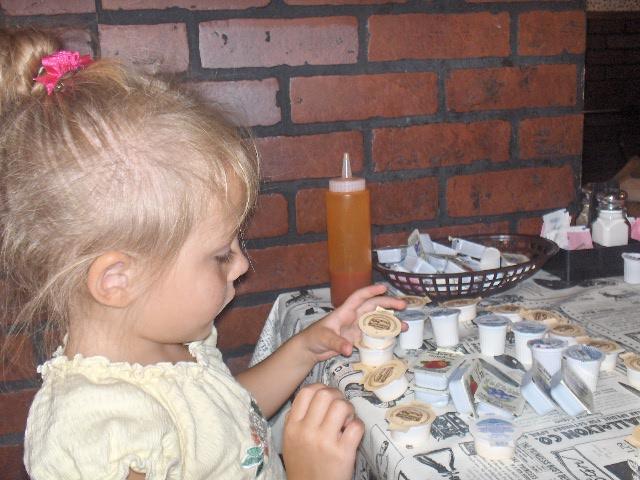 Sophie making.......something