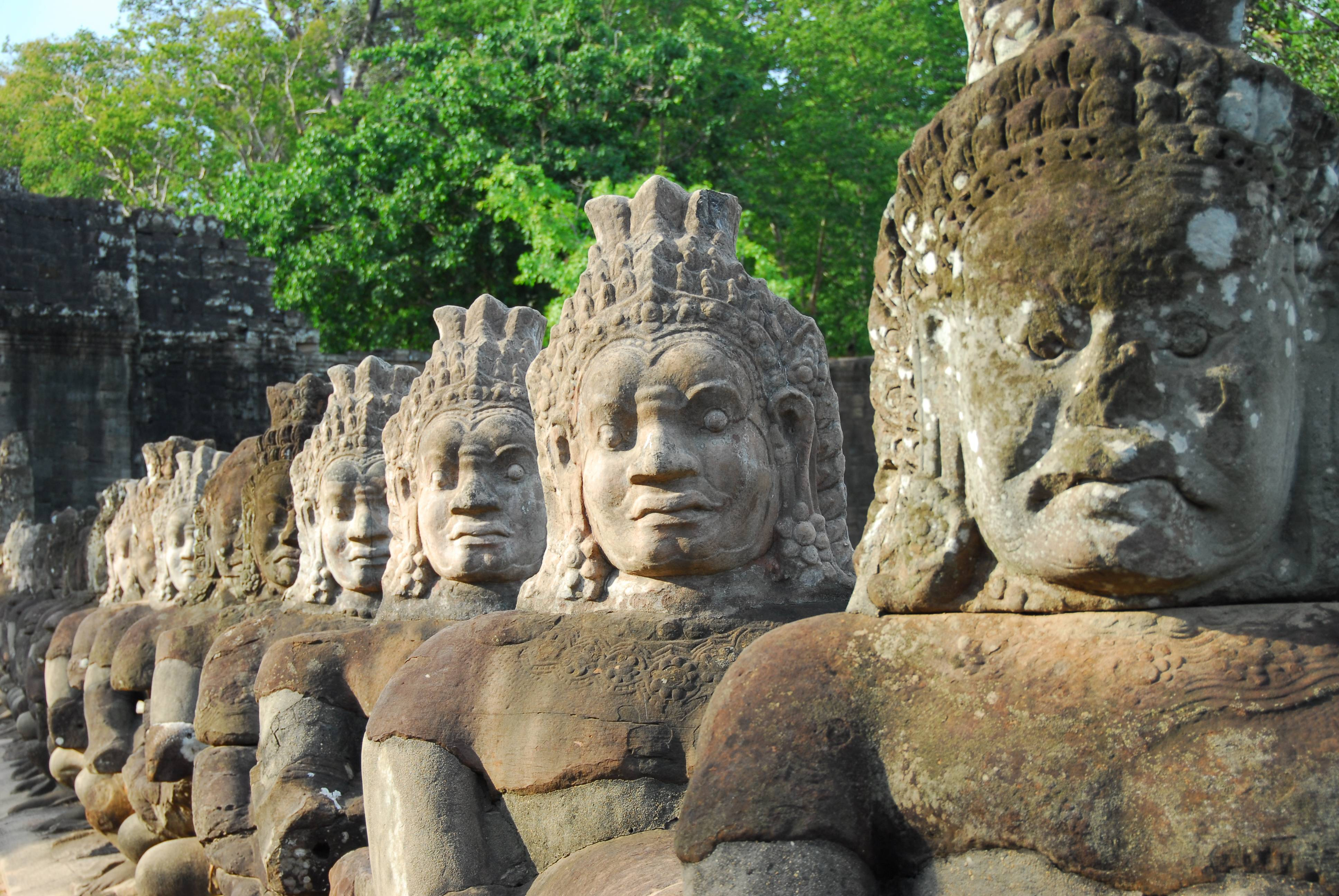 On the Road to Bayon