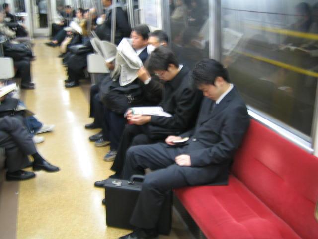 Salarymen Sleep