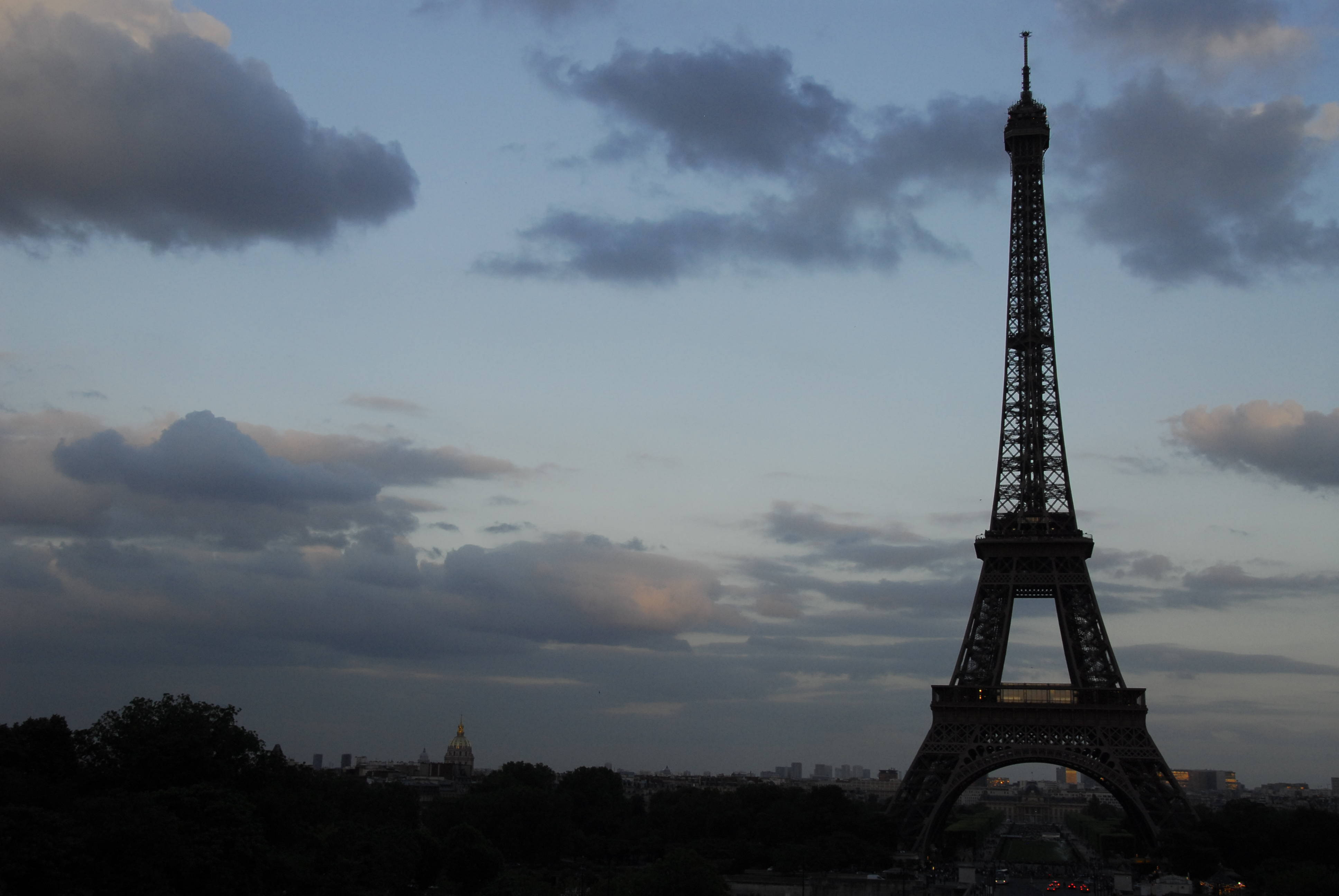 Eiffel at Dusk