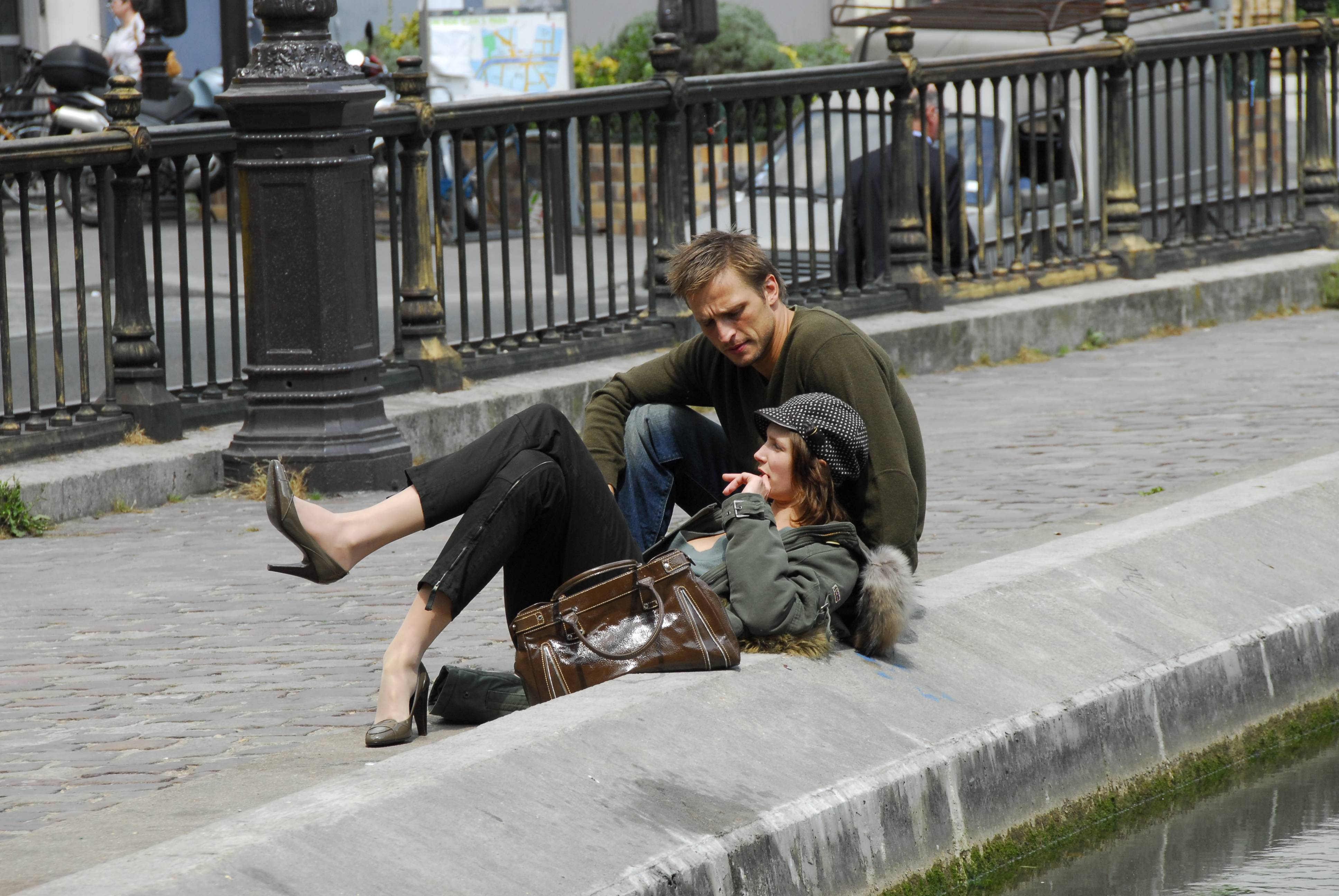 Couple by the Canal