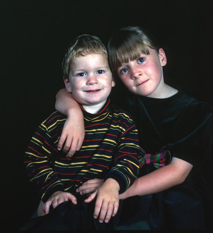Kids in colour