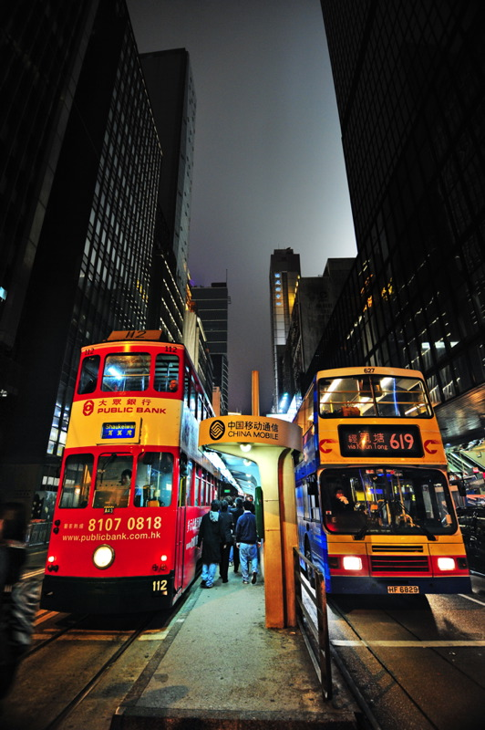 Tram or Bus?