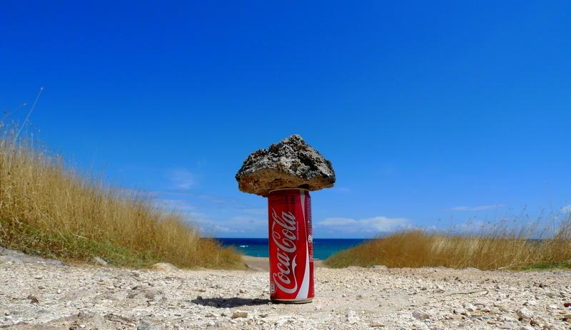 Coke on the road