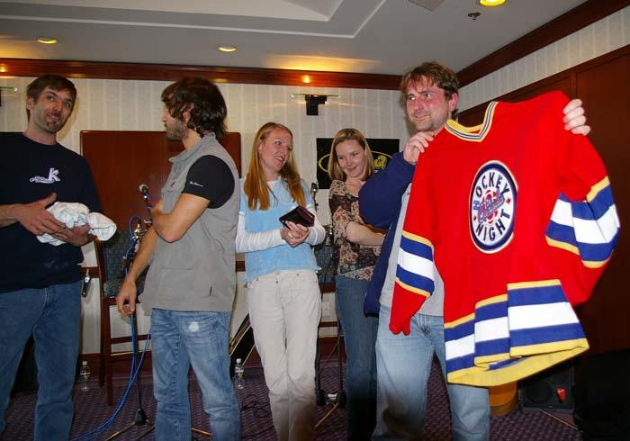 ...even a hockey jersey