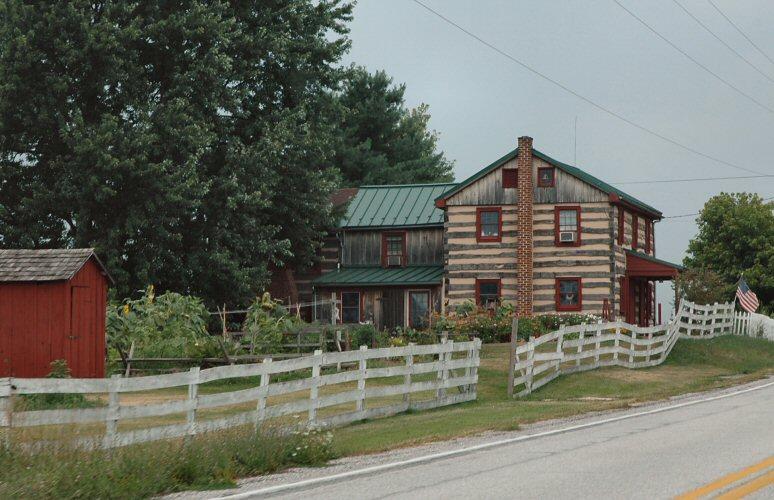 pennsylvania log house