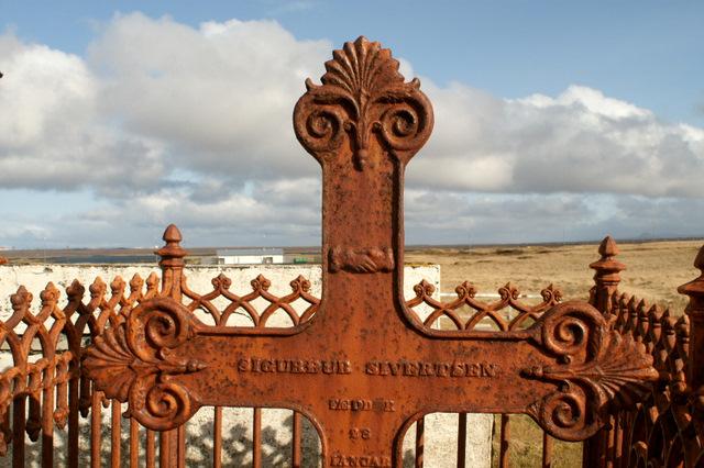 Kirkjugarðurinn í Höfnum