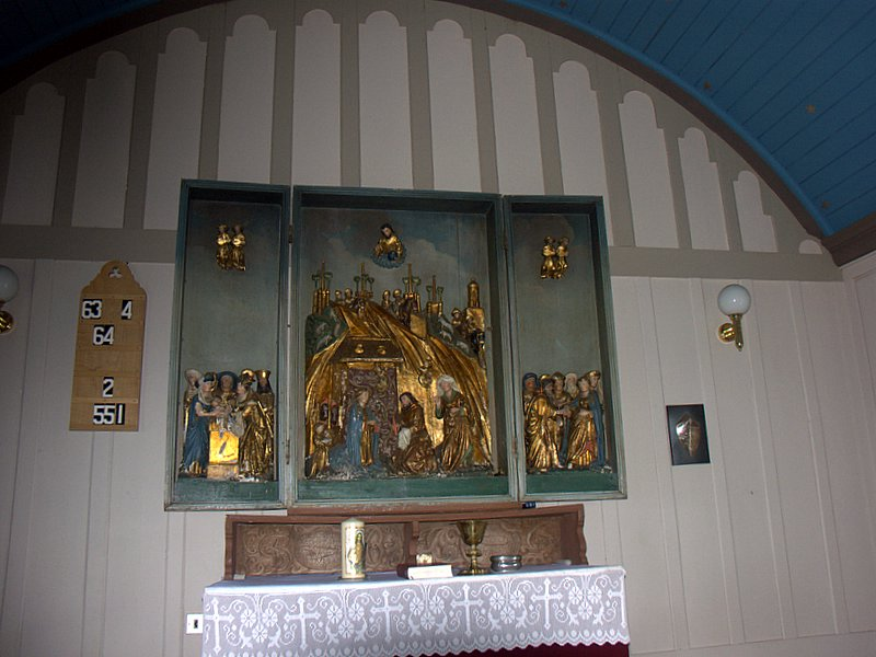 Altaristafla Ólafar Ríku