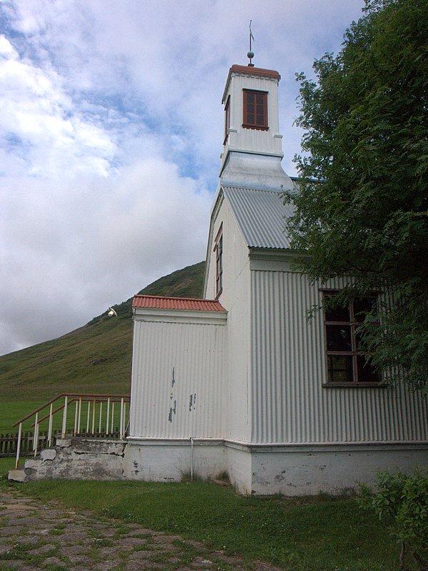 Höfuðbóls kirkjan í Hvammi Dala
