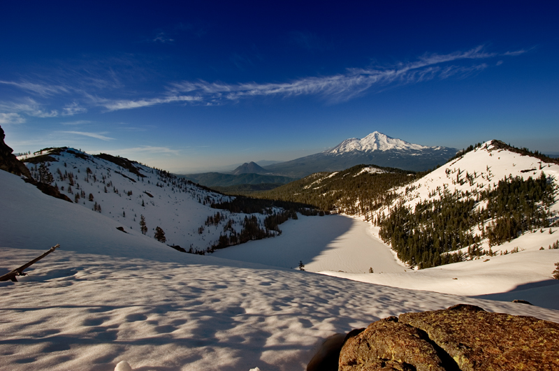 Shasta from Above Castle Lake II