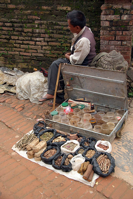 Herbs and Spices for Sale Bhaktapur