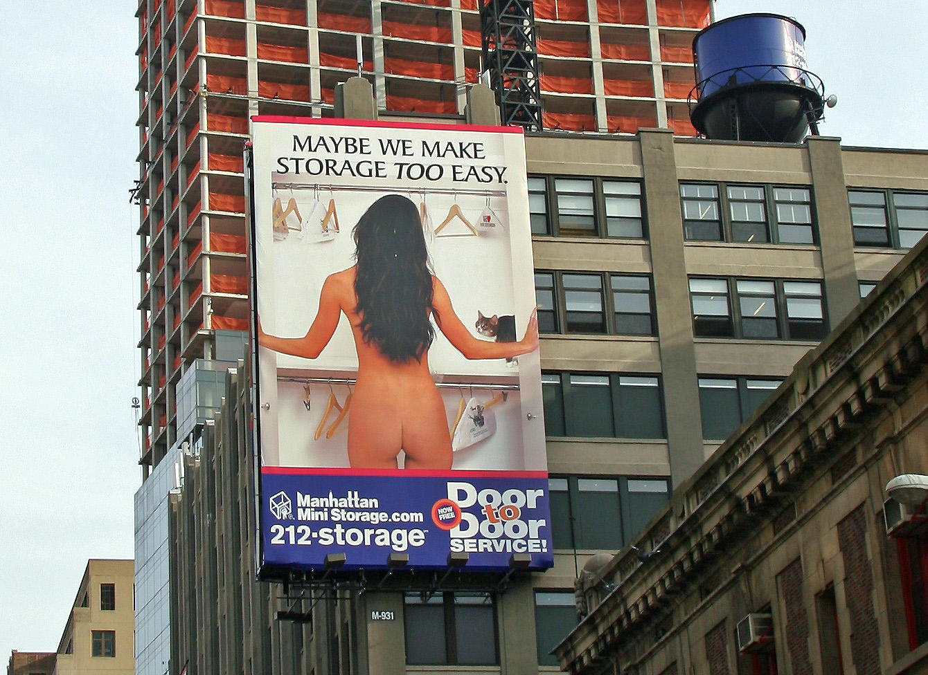 Manhattan Mini Storage Billboard
