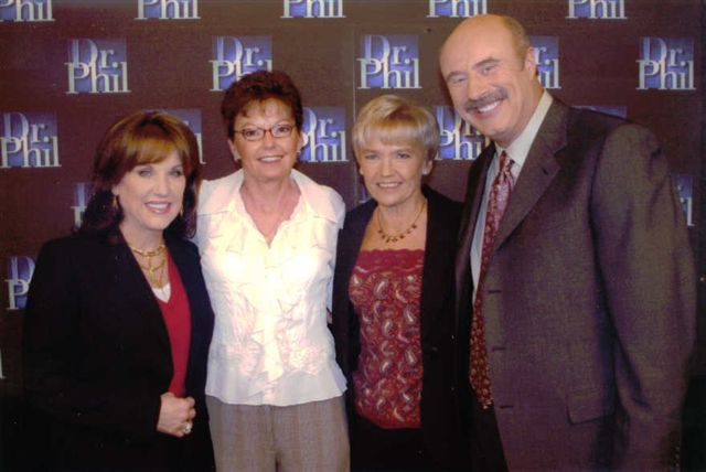 Jani and Cathi  with Dr.Phil and Robin