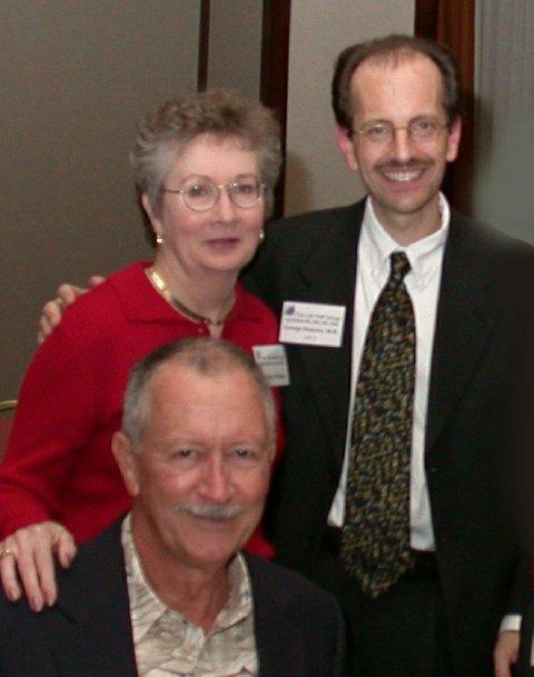 Cynthia Whitson her husband and Dr. Demetri