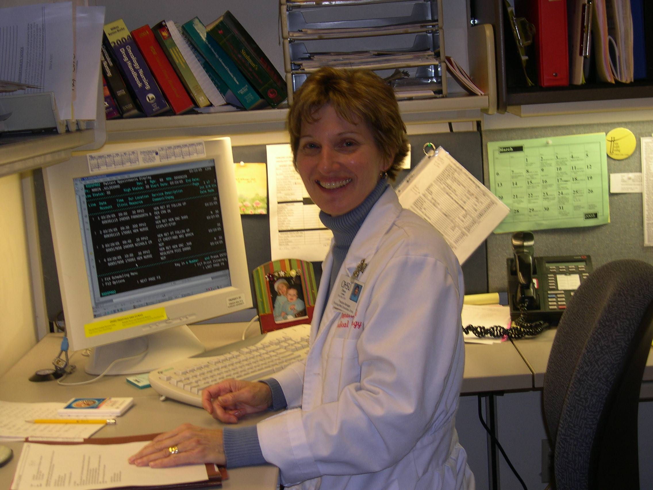 DianeLiefeld , R.N., B.S.N., O.C.N.- Oncology nurse at OHSU