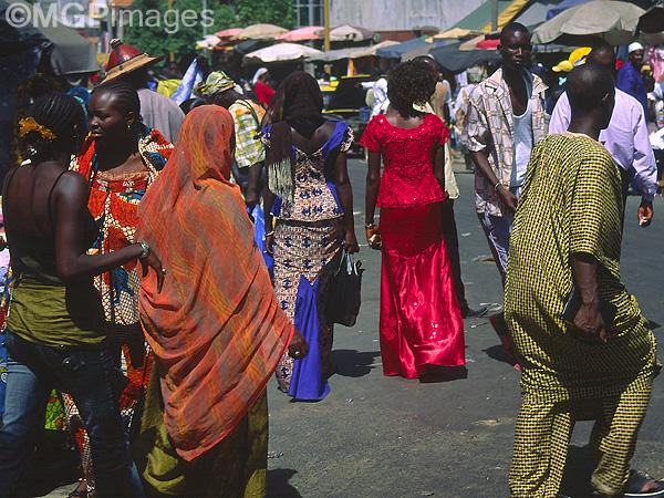 Sandaga Market, Dakar, Senegal