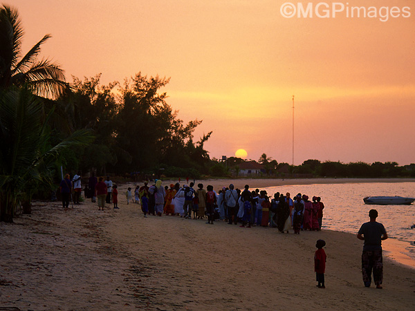 A wedding on the beach, Carabane Island, Casamance, Senegal