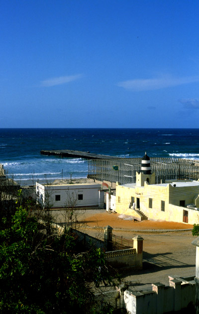 Aw Usman Hoos Mosque in Merca, Somalia (and thanks to Sharif for correcting me!)