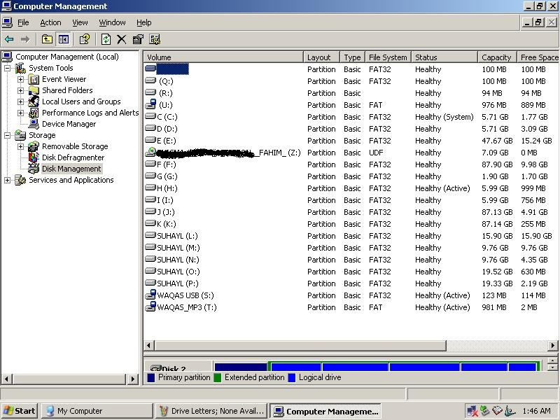 Disk Mgt - No Drive Letters Available.JPG