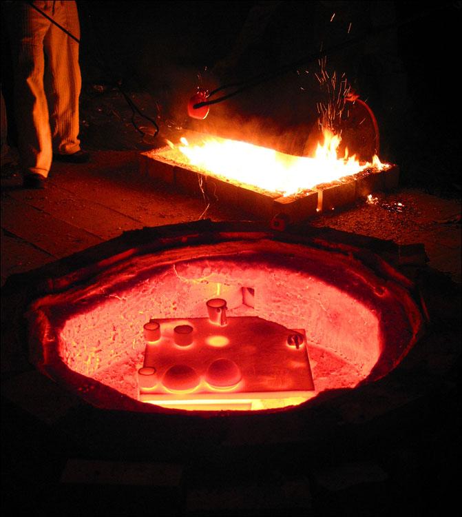 Raku cooking ... 04