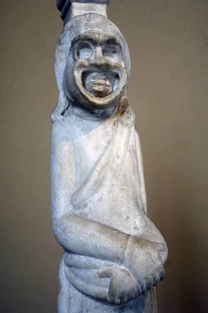 Actor in his mask 1178