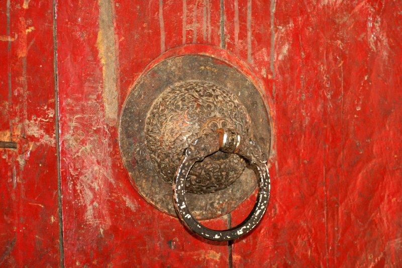 Monastery door detail