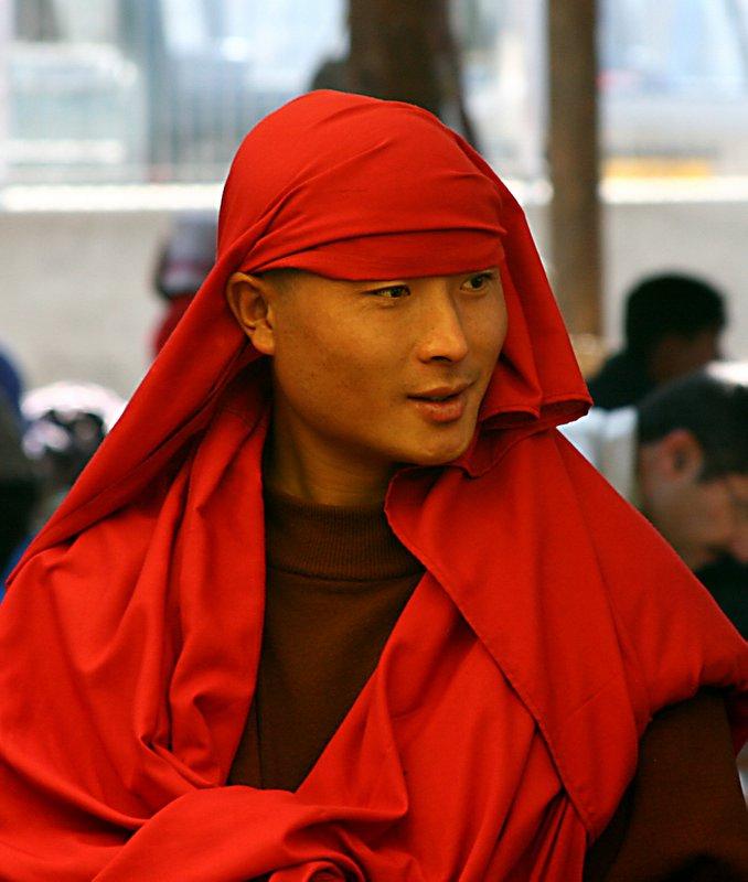Young Bhutanese monk
