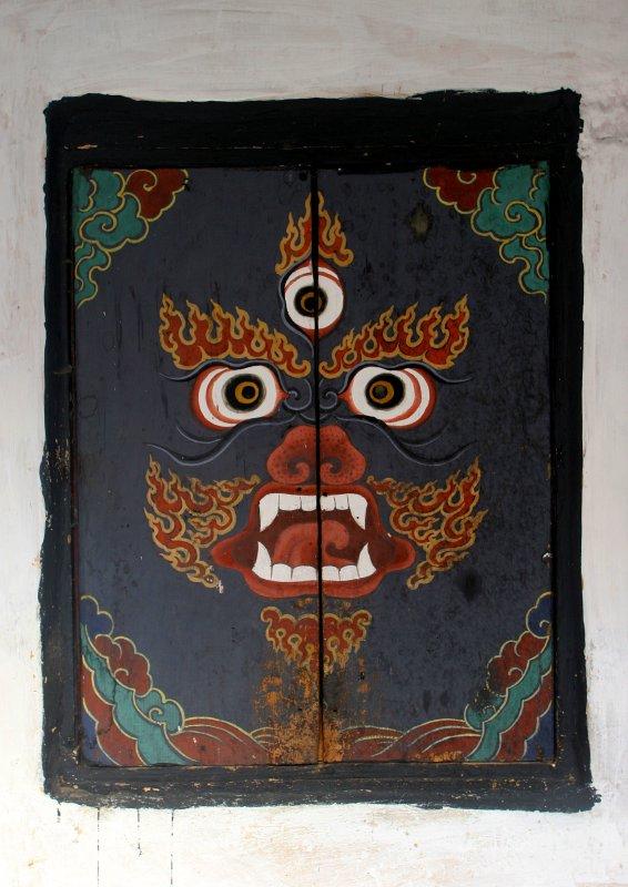 shuttered window-Bhutan