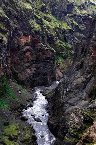 Markarfljot valley