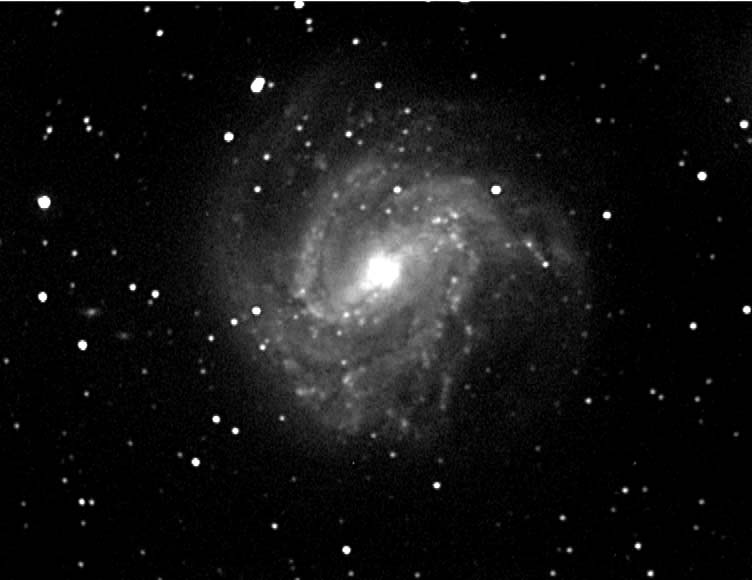 My first ever CCD image - M83