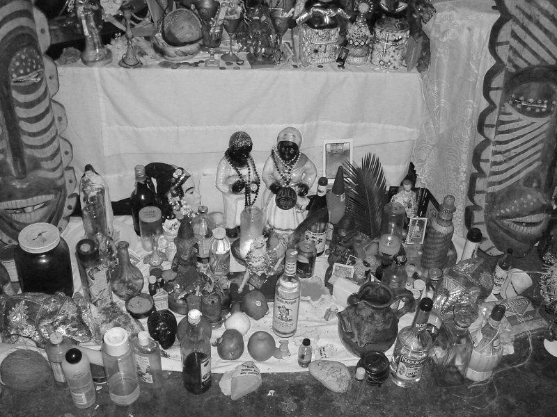 Voodoo Temple Altar