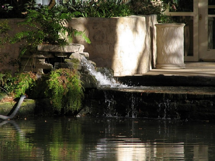 One of Many Fountains on the Riverwalk