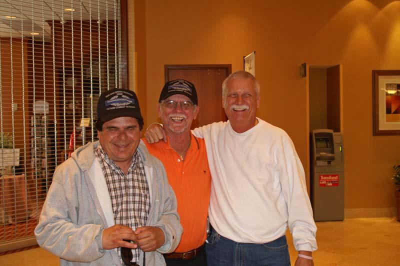 Angel Rodriguez, Randy Fox, Bart Failla