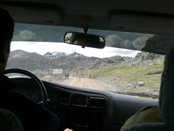A ride with two priests to Huancavelica