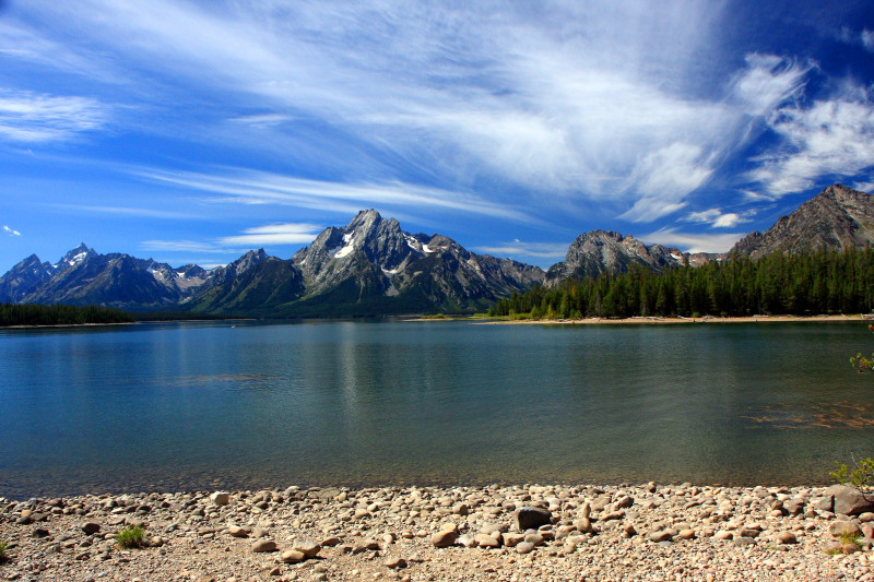 Grand Teton National Park, Wyoming - Jackson Lake