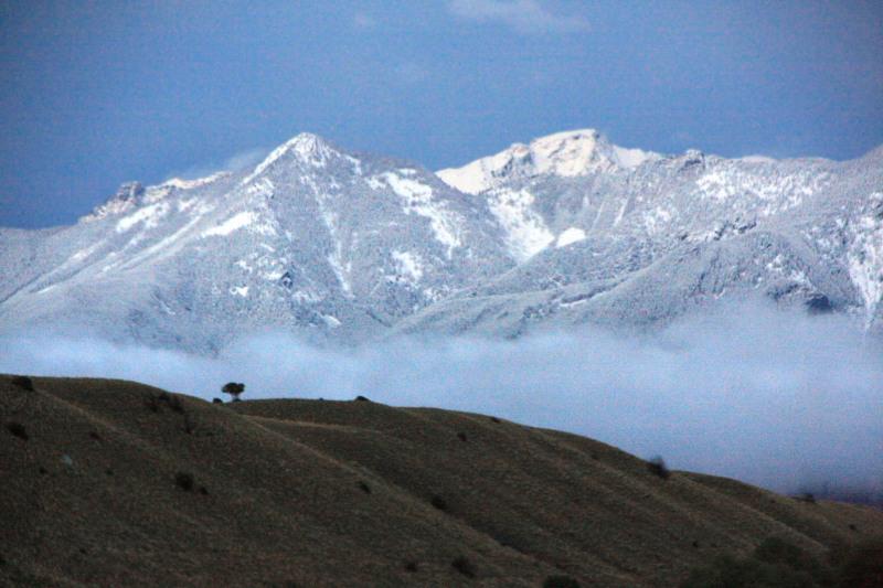 Absoraka Range, Gardiner to Livingston, Montana