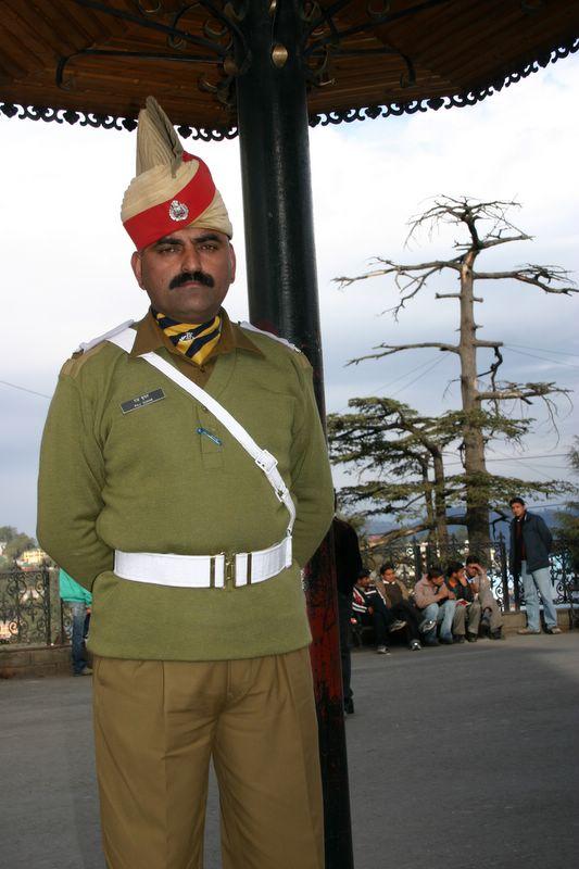 Police officer, Shimla, Himachal Pradesh