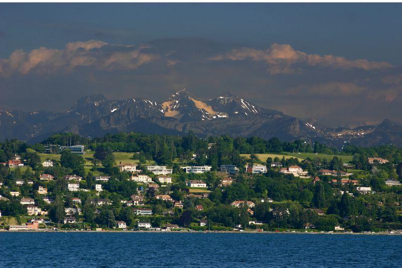 Five layers of the Earth, Geneva, Switzerland