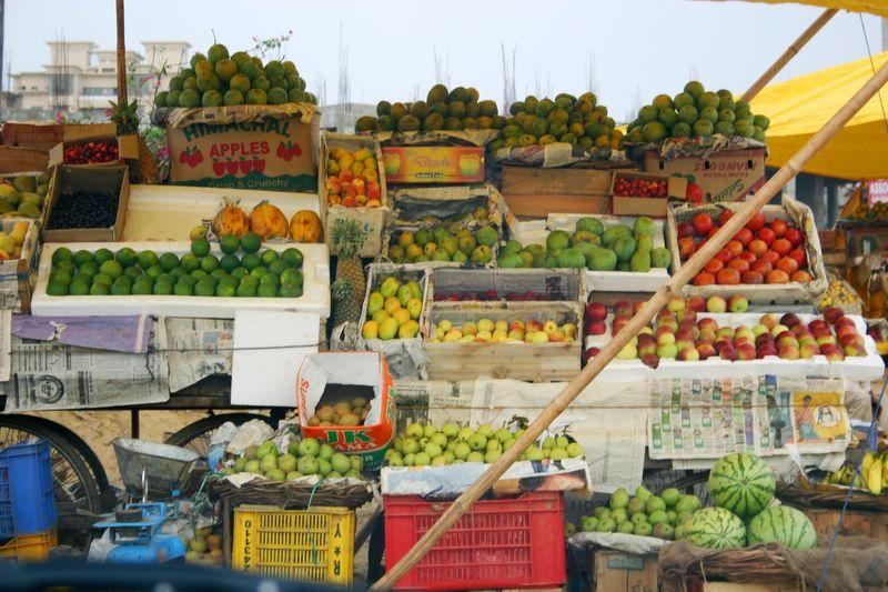 Fruit market, Gurgaon