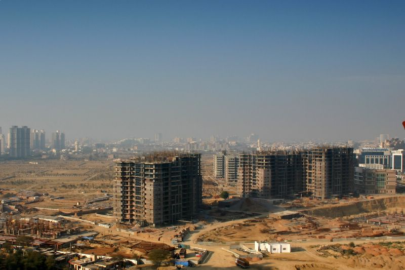 Constantly growing Gurgaon