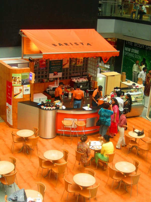 Barista, Metropolitan Mall, Gurgaon