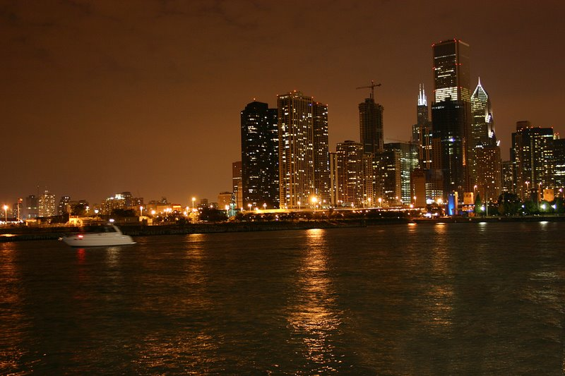 View from Navy Pier, Chicago