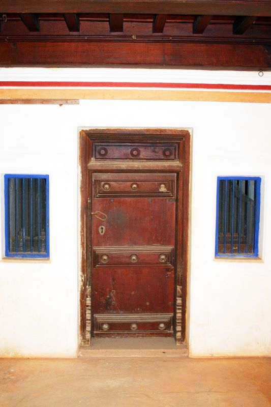 Doors and windows, Karaikudi, India